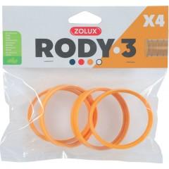 ZOLUX Złączka RODY3 (4 szt.) - żółty