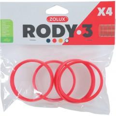 ZOLUX Złączka RODY3 (4 szt.) - czerwony