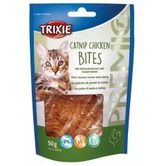 TRIXIE Premio Catnip Chicken Bites (z kurczakiem) - przysmaki dla kota 50g