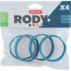ZOLUX Złączka RODY3 (4 szt.) - niebieski