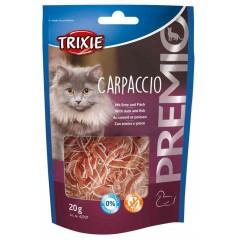 TRIXIE Premio Carpaccio z kaczką i dorszem - przysmaki dla kota 20g