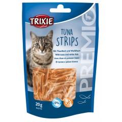 TRIXIE Premio Tuna Strips z tuńczykiem - przysmaki dla kota 20g