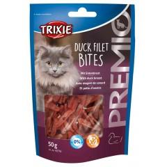 TRIXIE Premio Duck Filet Bites Filety z kaczki - przysmaki dla kota 50g