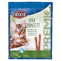 TRIXIE Premio Stick Quintett - Snacki Paluszki - Jagnięcina i indyk 4x 5g