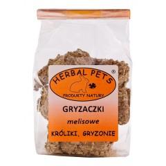 HERBAL PETS Gryzaczki melisowe - gryzonie 140g