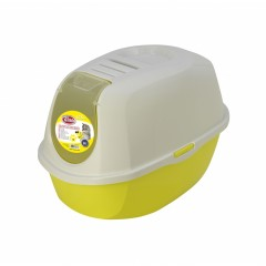 PET NOVA Cat Life Eco Toaleta dla kota 54cm - żółta