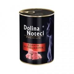 DOLINA NOTECI Premium dla kota - Bogata w cielęcinę 400g