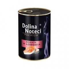DOLINA NOTECI Premium dla kota - Bogata w łososia 400g