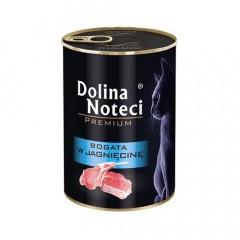 DOLINA NOTECI Premium dla kota - Bogata w jagnięcinę 400g