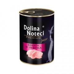 DOLINA NOTECI Premium dla kota Junior / Kitten - Bogata w indyka 400g
