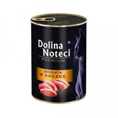 DOLINA NOTECI Premium dla kota - Bogata w kaczkę 400g