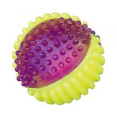 TRIXIE Kolorowa świecąca piłka z termogumy TPR śr. 7cm