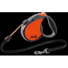 FLEXI Neon Reflect linka S 5m - pomarańczowa
