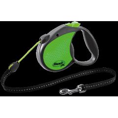 FLEXI Neon Reflect linka S 5m - zielona