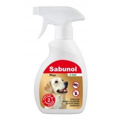 SABUNOL Płyn zwalczający pchły w otoczeniu zwierząt 250ml