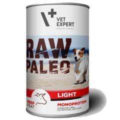 RAW PALEO Beef Light Dog 400g (puszka) wołowina - niskokaloryczna