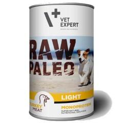 RAW PALEO Turkey Light Dog 400g (puszka) indyk - niskokaloryczna