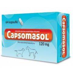 CAPSOMASOL - siła naturalnej kapsaicyny 120 mg (64kaps.) - małe rasy