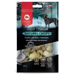 MACED Naturel Crispy - Kaczka z marchwią i rozmarynem 80g