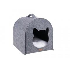 AMI PLAY Domek dla kota Quick Press 2in1 Hygge