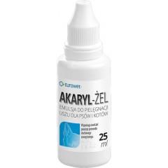 EUROWET Akaryl - żel do pielęgnacji uszu 25ml