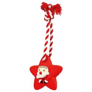 TRIXIE Gwiazdka świąteczna lateksowa na sznurku 33cm
