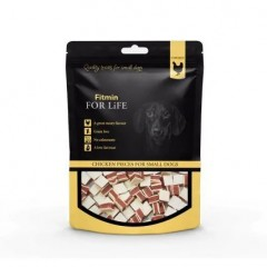 FITMIN For Life Dog & Cat Treat Chicken Pieces 70g