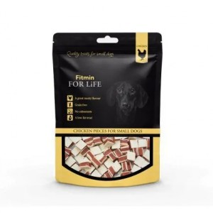 FITMIN Fot Life Dog & Cat Treat Chicken Pieces 70g