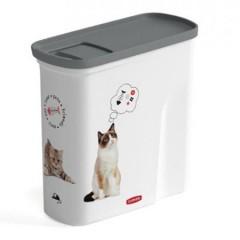 CURVER Petlife pojemnik na karmę/żwirek dla kota 2L