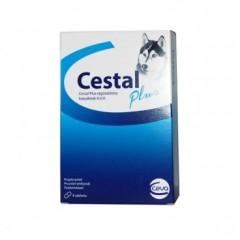 CESTAL Plus - tabletki do rozgryzania i żucia dla psów na odrobaczanie (8szt)
