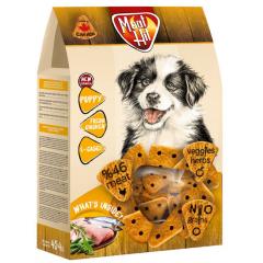 MEAT HIT Puppy - mięsne ciastka dla szczeniąt i młodych psów dużych ras 110g