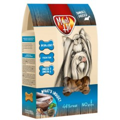 MEAT HIT Skin & Coat - mięsne ciastka dla psów 110g
