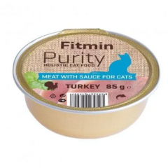 FITMIN Cat Purity alutray Turkay 85g