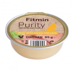 FITMIN Cat Purity alutray Chicken 85g
