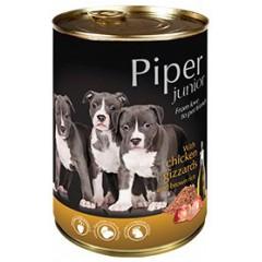 PIPER Junior z żołądkami kurczaka i ryżem 400g