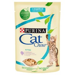 PURINA Cat Chow Kitten Indyk i Cukinia