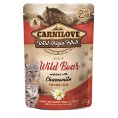 CARNILOVE CAT Pouch Wild Boar and Chamomile 85g