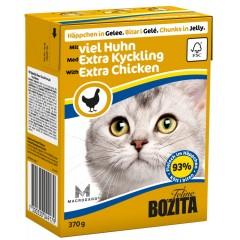 BOZITA Kurczak - kawałeczki mięsa dla kotów