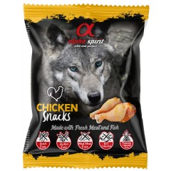 ALPHA SPIRIT Kurczak - Przysmak w kostkach dla psa 50g