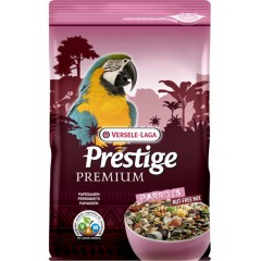 VERSELE-LAGA Parrots Premium 2kg - pokarm dla dużych papug (bez orzechów)
