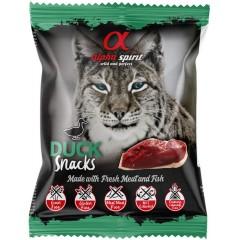 ALPHA SPIRIT Kaczka - Przysmak w kostkach dla kota 50g