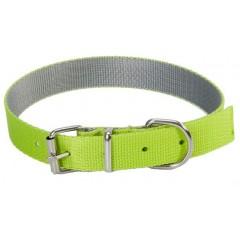 DINGO Obroża Energy Silver (1,6 x 45 cm) - zielono/szara