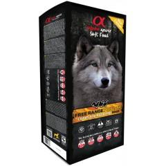 ALPHA SPIRIT Poultry - Miękka karma dla psów z drobiem 9kg (45x 200g tacka)