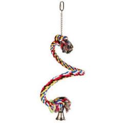 TRIXIE Żerdka sznur spiralny dla ptaków 50cm/21mm