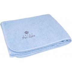 AMIPLAY Spa Ręcznik kąpielowy dla psa - Niebieski