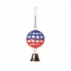 TRIXIE Piłka z dzwonkiem dla ptaków 7cm