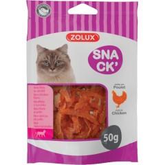 ZOLUX Przysmak dla kota mini filety z kurczaka 50g