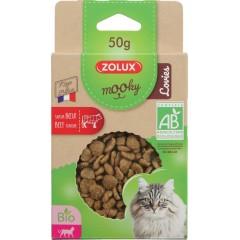 ZOLUX Przysmak MOOKY BIO Cat Lovies z wołowiną 50g