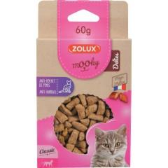 ZOLUX Przysmak MOOKY DELIES dla kota - Zapobiega zakłaczeniom 60g