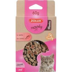 ZOLUX Przysmak MOOKY FLOWIES dla kota z łososiem 60g
